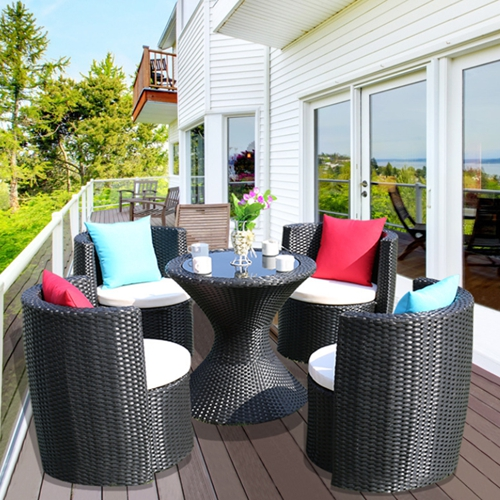 Magnificent Nordic Carbon Steel Outdoor 4 Seater Furniture Set E Buy Home Interior And Landscaping Ologienasavecom