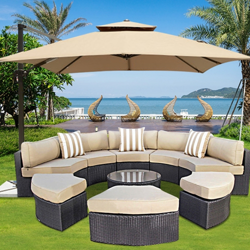 Modular Rattan Pool Side Sofa Chair Table Furniture E Buy